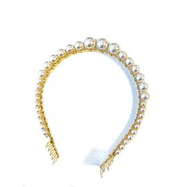 Pearly Row Luxury Headpiece