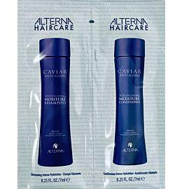 Folieprøve Caviar Moist shampo & cond