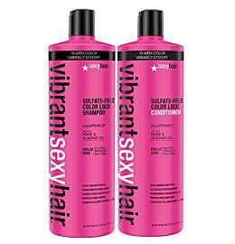 Vibrant Shampoo og Conditioner liter duo